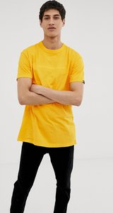 Tribe Sakat embroidered t-shirt in yellow