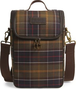 Tartan Cooler Bag, Size One Size - Green