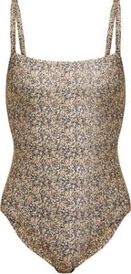 The Square Swimsuit - Womens - Yellow Multi