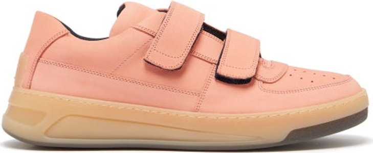 Perey Suede Trainers - Mens - Pink