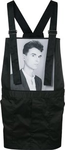 Robert Mapplethorpe photograph print apronsuit - men - Cotton/Polyester - 48 - Black