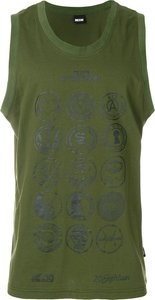 Scout patches tank top - Green