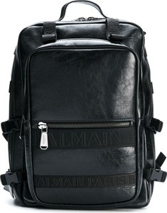 military style backpack - Black