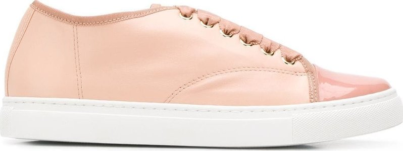 lace-up sneakers - Neutrals