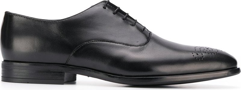 classic oxfords - Black