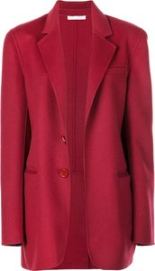 single breasted blazer - Red