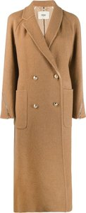 wrap front trench coat - Neutrals