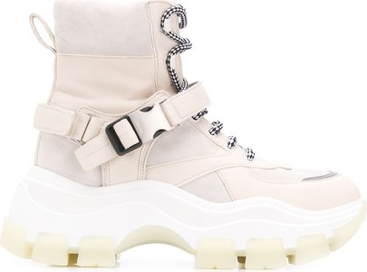 Block high-top sneakers - Neutrals
