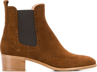 Comoscio ankle boots - Brown