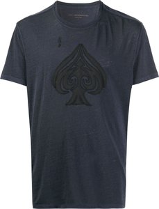 Ace of Spades T-shirt - Blue