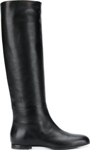 tall riding boots - Black