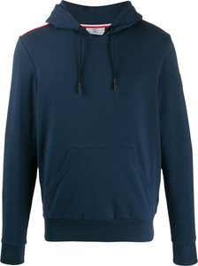 relaxed-fit logo hoodie - Blue