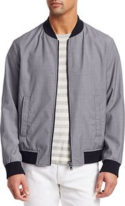 COLLECTION Check Bomber Jacket