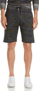 Camouflage-Print Sweat Shorts