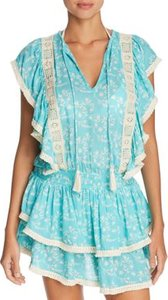 Quinn Ruffle Tunic Swim Cover-Up