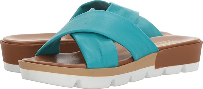 Floretta (Turquoise Leather) Women's Shoes