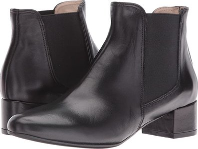 Johnna (Black Leather) Women's Shoes