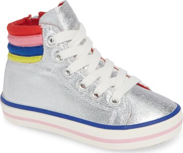 Applique High Top Sneaker