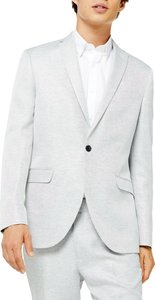 Clay Skinny Fit Twill Suit Jacket