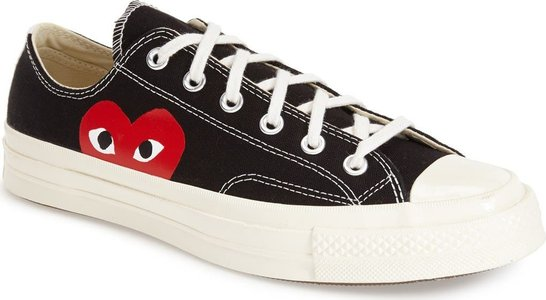 Play X Converse Chuck Taylor Low Top Sneaker