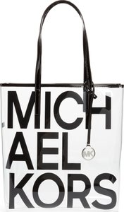 North/south Transparent Tote -