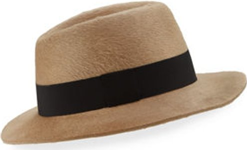 Rabbit Felt Fedora Hat