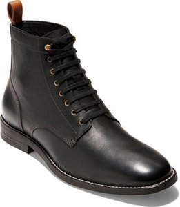 Feathercraft Grand Leather Lace-Up Boots w/ Contrast Accents
