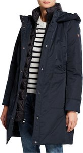 Kamet Hooded Down Parka Coat w/ Underlay
