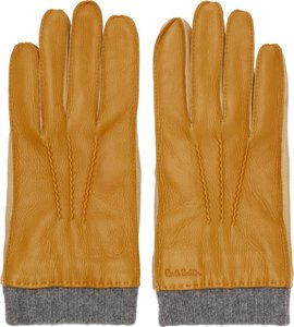 Tan Leather Gloves