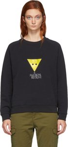 Black Triangle Fox Sweatshirt