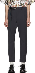 Blue Techno Stretch Trousers