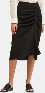Ruched-Side Skirt