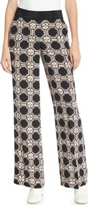 Printed Silk Wide-Leg Pajama Pants