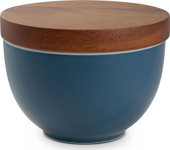 Prism Candle Bowl with Lid, Aurora Blue