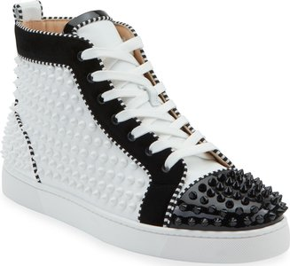 Louis Spikes 2 Leather High-Top Sneaker