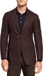 Two-Button Patch-Pocket Jacket