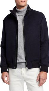 Stirling Double Cashmere Bomber Jacket