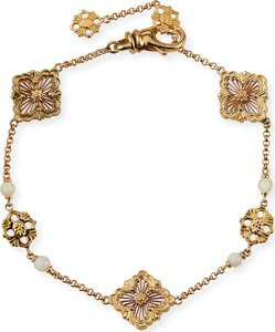 Opera 18k Chain Bracelet w/ Mother-of-Pearl