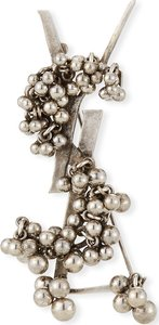 YSL Folk Brooch w/ Bells