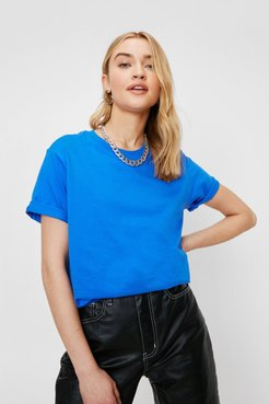 Classic Relaxed Crew Neck T-Shirt - Royal