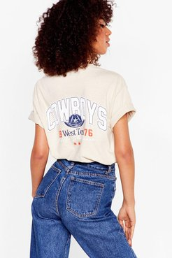 Well Howdy Cowboys Graphic Tee - Sand