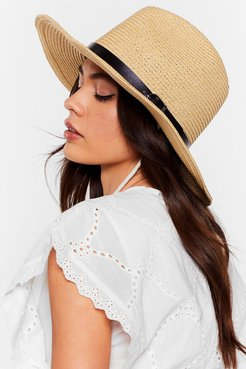 Hats Off to You Straw Panama Hat - Cream