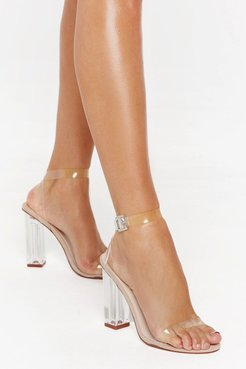 Let's Be Clear Heel - Nude