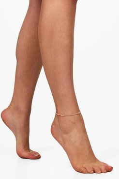 Multi Chain Anklet - Metallics - One Size