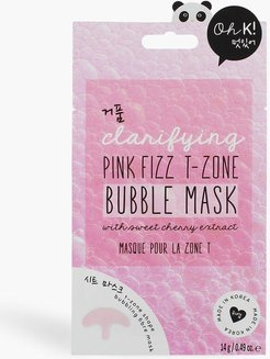 Oh K! Pink Fizz T-Zone Bubble Mask - One Size