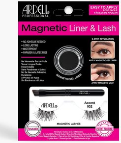 Ardell Magnetic Accent 002 Lash Kit - Black - One Size