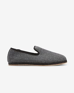 Faux Fur Lined Slippers Gray Men's 8