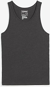Classic Scoop Neck Fade-Resistant Stretch Tank