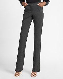 Mid Rise Heathered Barely Boot Curvy Pant Women's Charcoal Gray