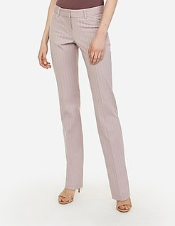 Low Rise Stripe Barely Boot Editor Pant
